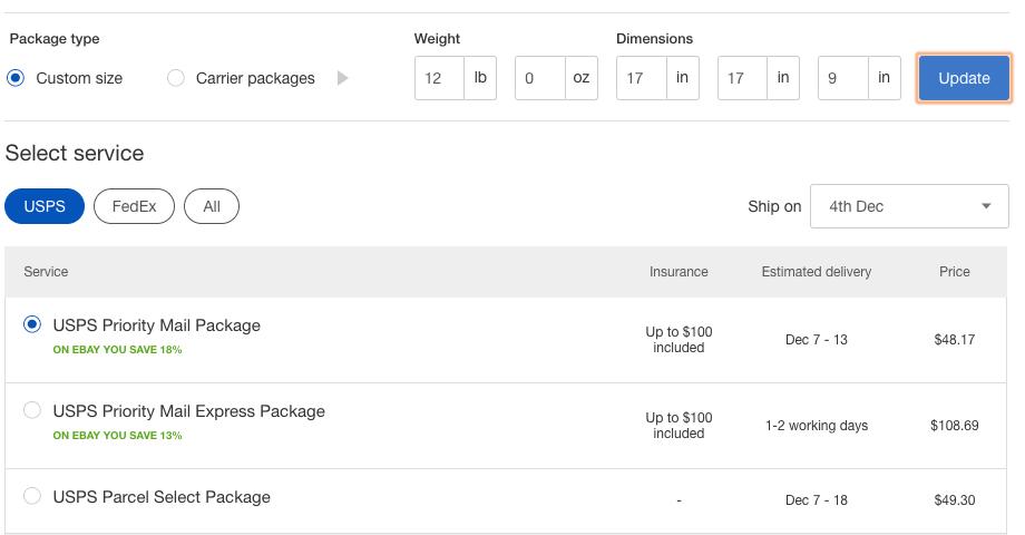 Print Shipping eBay
